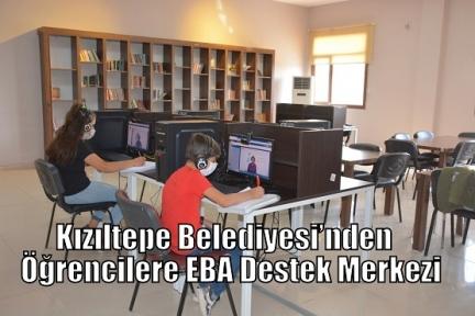 Kızıltepe Belediyesi'nden Öğrencilere EBA Destek Merkezi