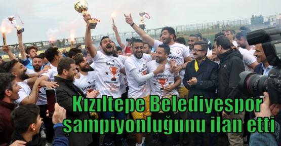 Kızıltepe Belediyespor şampiyonluğunu ilan etti