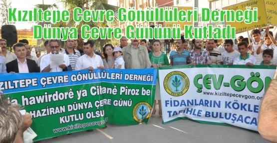 Kızıltepe Çevre Gönüllüleri Derneği 5 Haziran Dünya Çevre Gününü Kutladı.