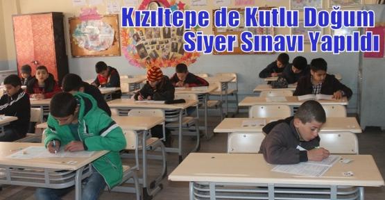 Kızıltepe de Kutlu Doğum Siyer Sınavı Yapıldı