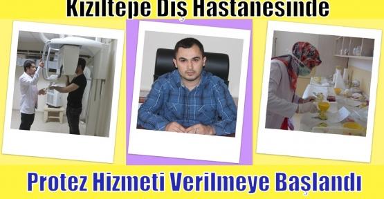 Kızıltepe Diş Hastanesinde  Protez Hizmeti Verilmeye Başlandı