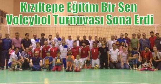 Kızıltepe Eğitim Bir Sen Voleybol Turnuvası  Sona Erdi