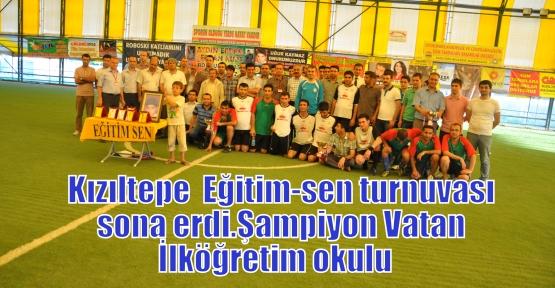 Kızıltepe  Eğitim-sen turnuvası sona erdi.