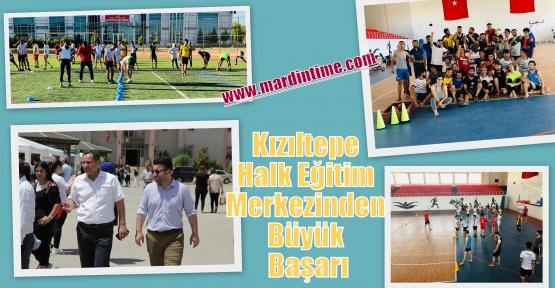 Kızıltepe Halk Eğitim Merkezinden Büyük Başarı