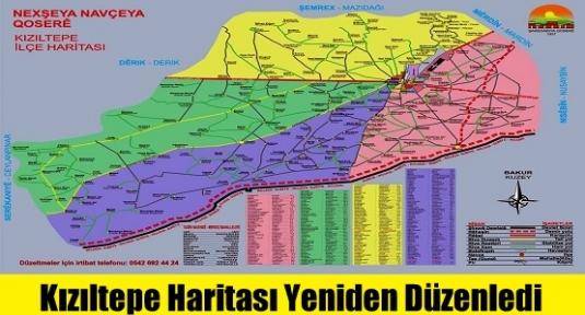 Kızıltepe Haritası Yeniden Düzenledi