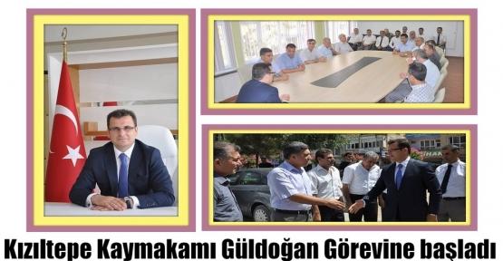 Kızıltepe Kaymakamı Güldoğan Görevine başladı.