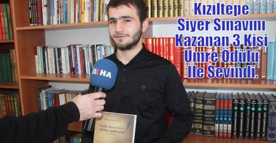 Kızıltepe Siyer Sınavını Kazanan 3 Kişi Umre Ödülü İle Sevindi.