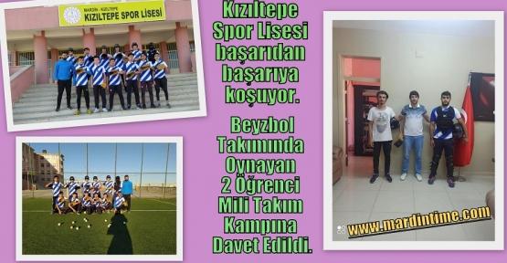 Kızıltepe Spor Lisesi Öğrencileri Başarıdan Başarıya Koşuyor.