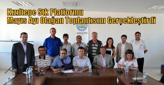 Kızıltepe Stk Platformu Mayıs Ayı Olağan Toplantısını Gerçekleştirdi.