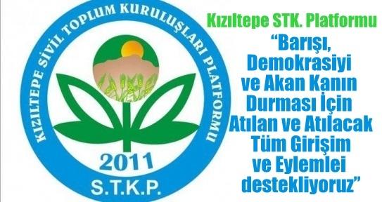 Kızıltepe STK Platformundan Çağrı