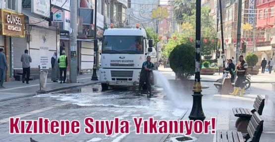 Kızıltepe Suyla Yıkanıyor!