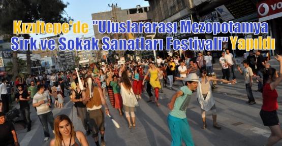 """Kızıltepe """"Uluslararası Mezopotamya Sirk ve Sokak Sanatları Festivali"""" Yapıldı"""