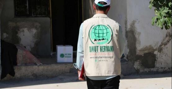 Kızıltepe Umut Kervanı ekim ayı faaliyet raporunu açıkladı