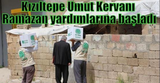 Kızıltepe Umut Kervanı Ramazan yardımlarına başladı