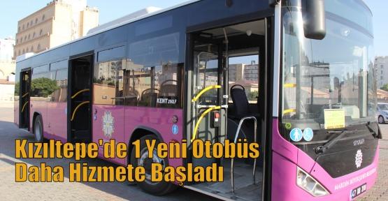 Kızıltepe'de 1 Yeni Otobüs Daha Hizmete Başladı