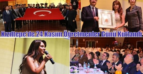Kızıltepe'de 24 Kasım Öğretmenler Günü Kutlandı