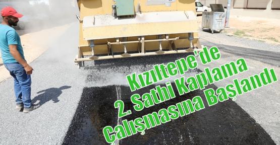 Kızıltepe'de 2. Sathi Kaplama Çalışmasına Başlandı