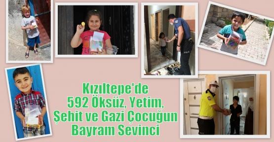 Kızıltepe'de 592 Öksüz, Yetim, Şehit ve Gazi Çocuğun Bayram Sevinci