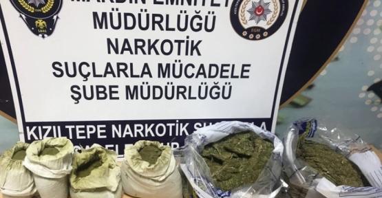 Kızıltepe'de 7.2 Kg Uyuşturucu ele geçirildi
