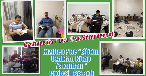 Kızıltepe'de  7'den 77'ye Kitap Okuma Seferberliği Başladı