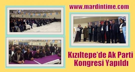 Kızıltepe'de Ak Parti Kongresi Yapıldı