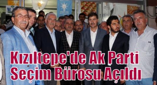 Kızıltepe'de Ak Parti Seçim Bürosu Açıldı