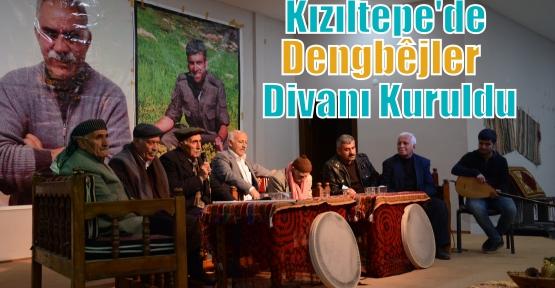 Kızıltepe'de Dengbêjler Divanı Kuruldu