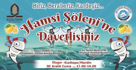 Kızıltepe'de Hamsi Festivali Düzenlenecek