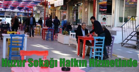 Kızıltepe'de Huzur Sokağı Halkın Hizmetinde