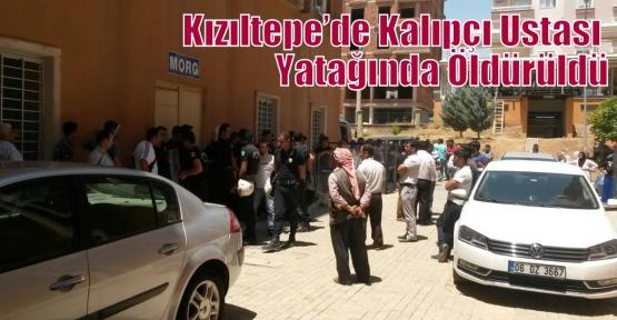 Kızıltepe'de Kalıpçı Ustası Yatağında Öldürüldü