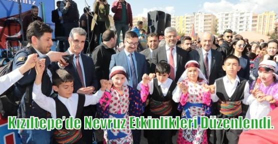 Kızıltepe'de Nevruz Etkinlikleri Düzenlendi.