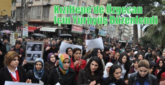 Kızıltepe'de Özgecan İçin Yürüyüş Düzenlendi