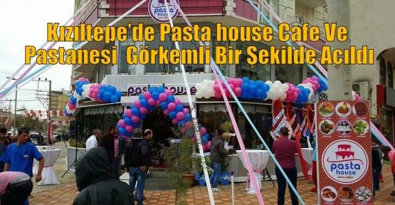 Kızıltepe'de Pasta House Cafe Ve Pastane  Görkemli Bir Şekilde Açıldı