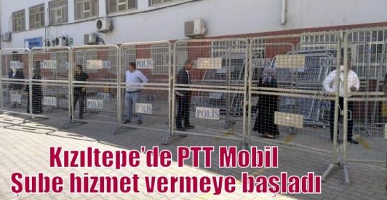 Kızıltepe'de PTT Mobil Şube hizmet vermeye başladı