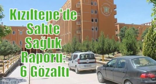 Kızıltepe'de Sahte Sağlık Raporu: 6 Gözaltı