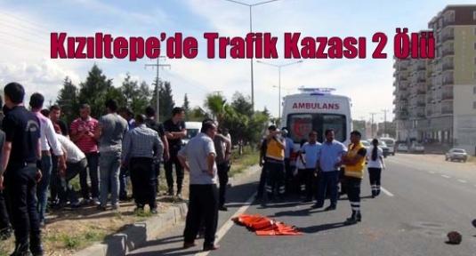 Kızıltepe'de Trafik Kazası 2 Ölü