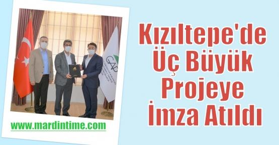 Kızıltepe'de Üç Büyük Projeye İmza Atıldı