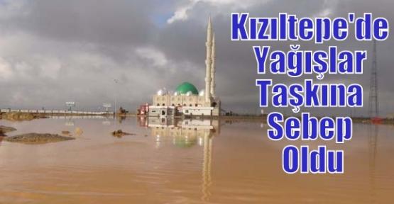 Kızıltepe'de Yağışlar Taşkına Sebep Oldu