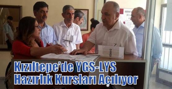 Kızıltepe'de YGS-LYS Hazırlık Kursları Açılıyor