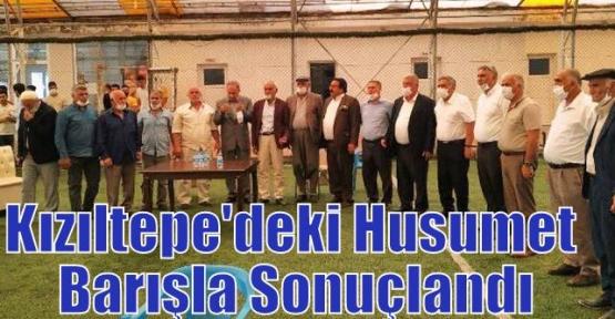 Kızıltepe'deki Husumet Barışla Sonuçlandı