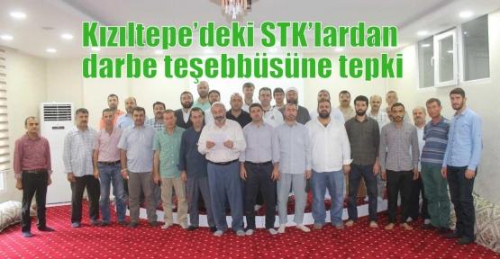 Kızıltepe'deki STK'lardan darbe teşebbüsüne tepki