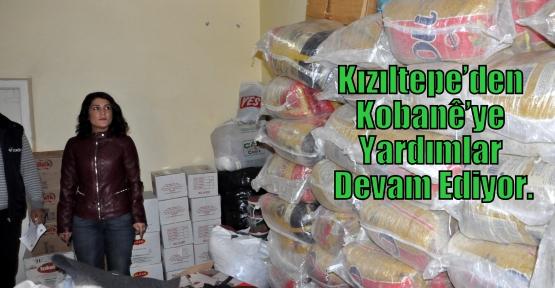 Kızıltepe'den Kobanê'ye Yardımlar Devam Ediyor.