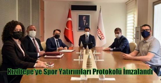 Kızıltepe'ye Spor Yatırımları Protokolü İmzalandı