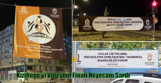 Kızıltepe'yi Voleybol Finali Heyecanı Sardı