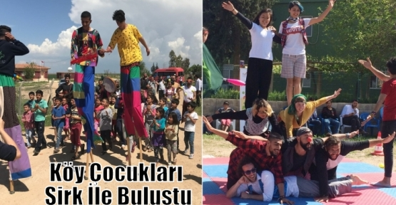 Köy Çocukları Sirk İle Buluştu