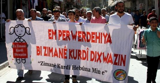 Kurdi-Der Kızıltepe'de Anadilde Eğitim İçin Basın Açıklaması Yaptı