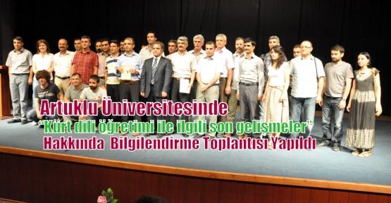 """""""Kürt dili öğretimi ile ilgili son gelişmeler"""