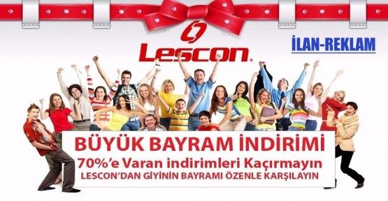 LESCON'da Büyük Bayram İndirimi