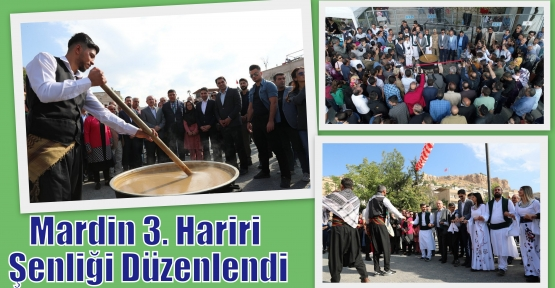 Mardin 3. Hariri Şenliği Düzenlendi