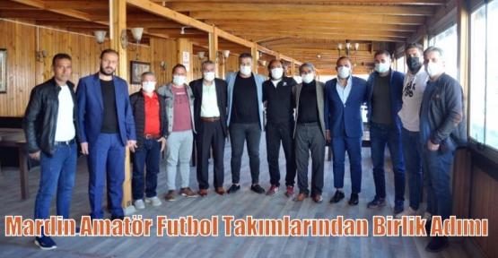 Mardin Amatör Futbol Takımlarından Birlik Adımı